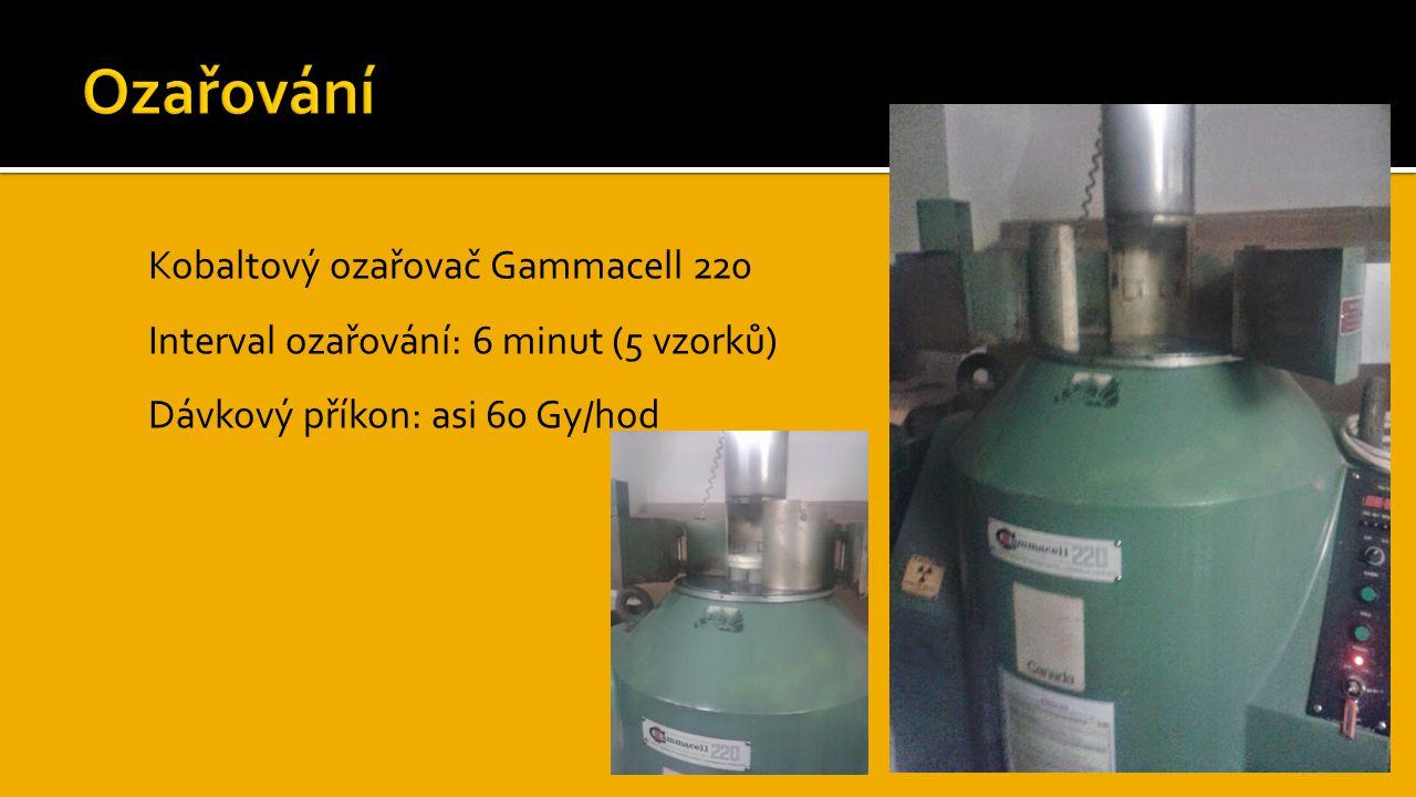 Ozařování Kobaltový ozařovač Gammacell 220