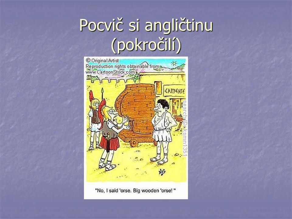 Pocvič si angličtinu (pokročilí)