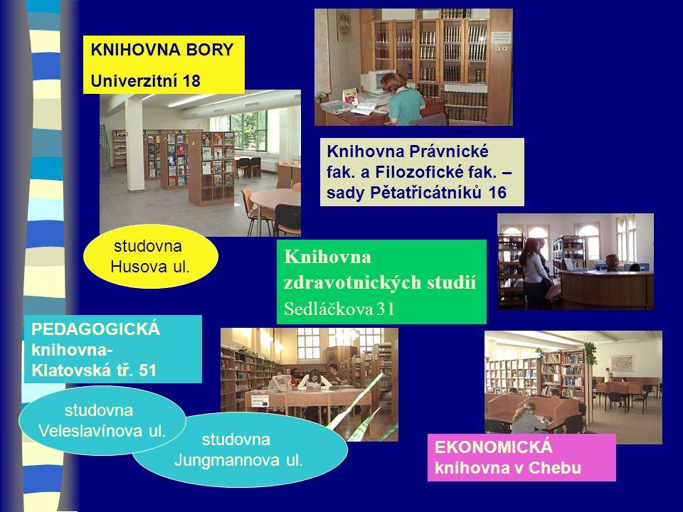 Knihovna zdravotnických studií Sedláčkova 31