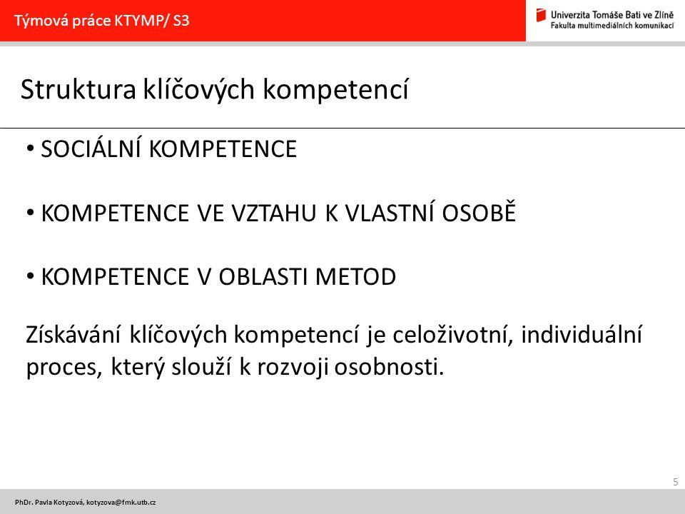 Struktura klíčových kompetencí