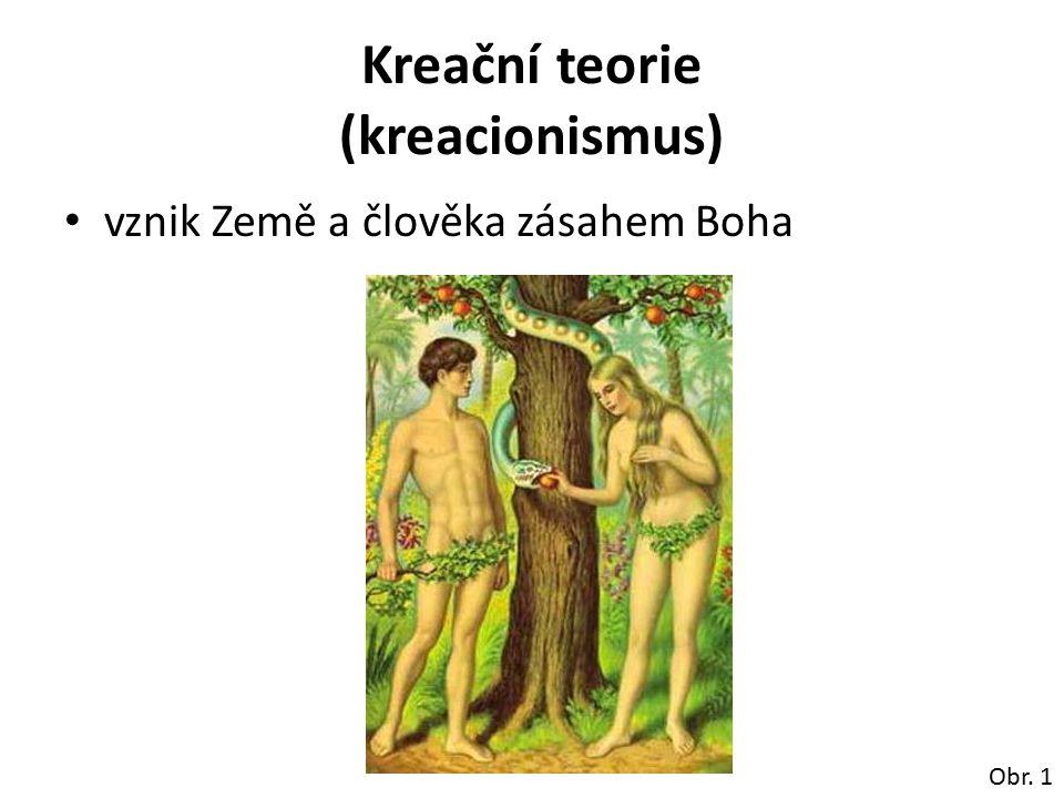 Kreační teorie (kreacionismus)