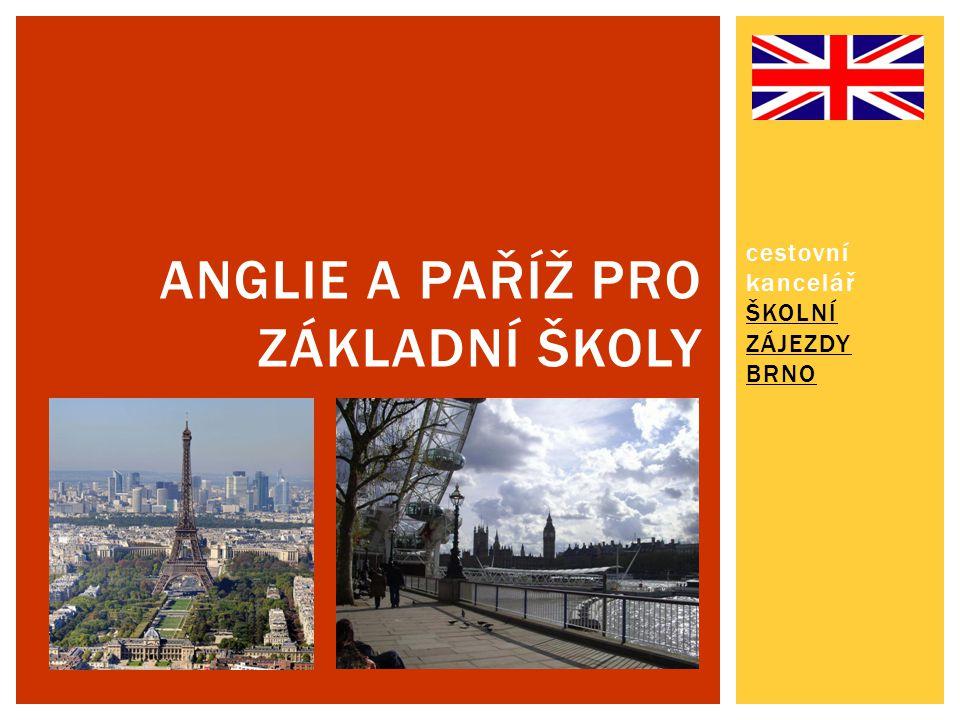 Anglie a Paříž pro základní školy
