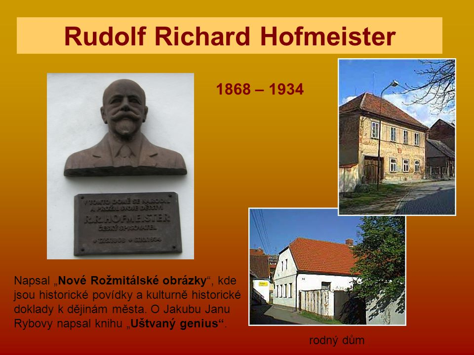 Rudolf Richard Hofmeister