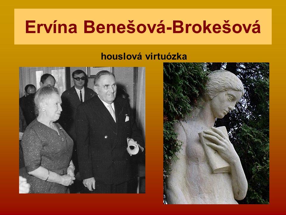 Ervína Benešová-Brokešová
