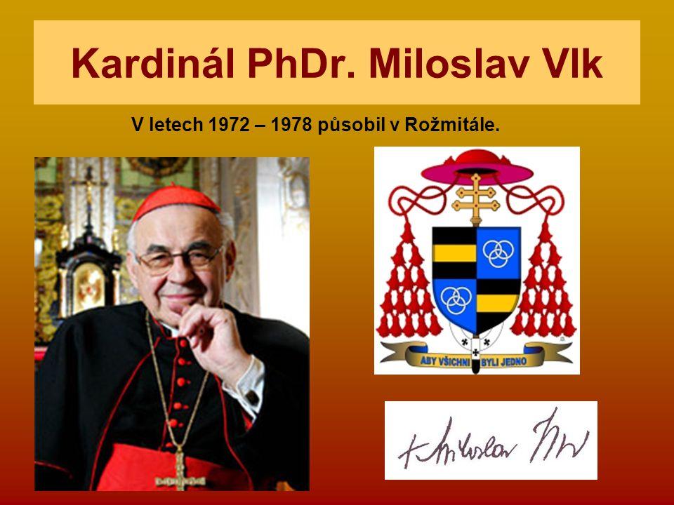 Kardinál PhDr. Miloslav Vlk
