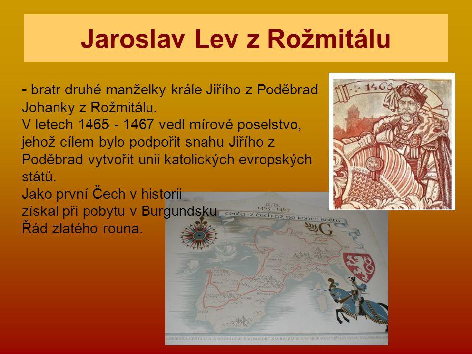 Jaroslav Lev z Rožmitálu