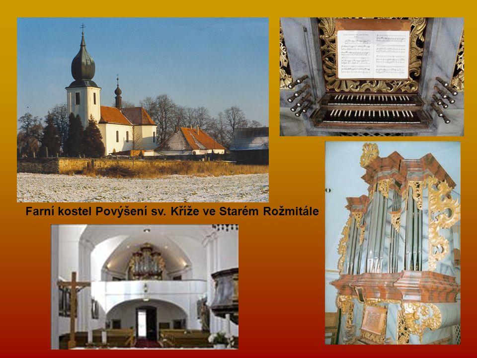 Farní kostel Povýšení sv. Kříže ve Starém Rožmitále
