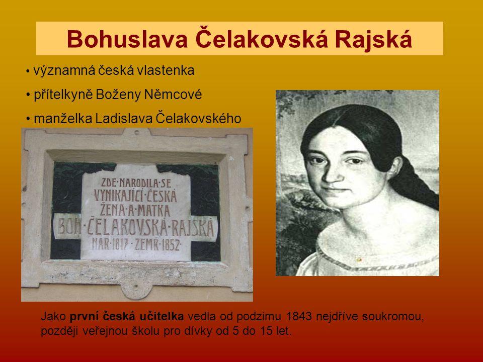 Bohuslava Čelakovská Rajská