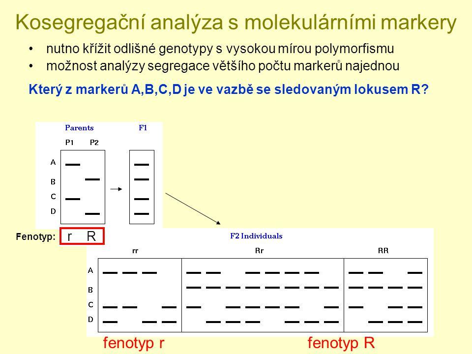 Kosegregační analýza s molekulárními markery