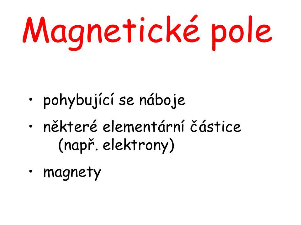 Magnetické pole pohybující se náboje