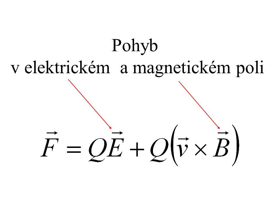 v elektrickém a magnetickém poli
