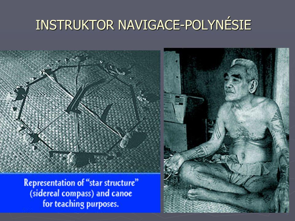 INSTRUKTOR NAVIGACE-POLYNÉSIE