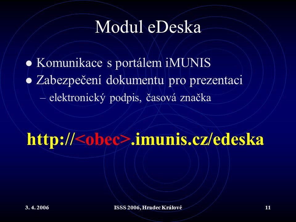 Modul eDeska http://<obec>.imunis.cz/edeska