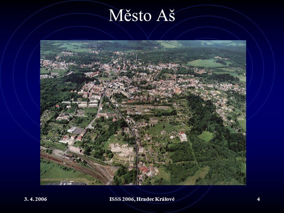 Město Aš 3. 4. 2006 ISSS 2006, Hradec Králové