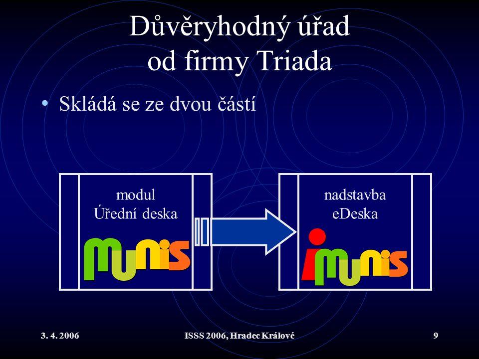 Důvěryhodný úřad od firmy Triada
