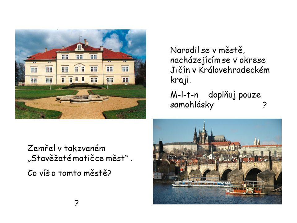 Narodil se v městě, nacházejícím se v okrese Jičín v Královehradeckém kraji.