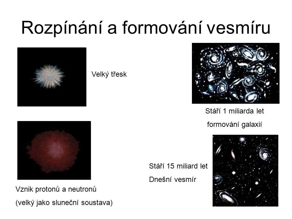Rozpínání a formování vesmíru
