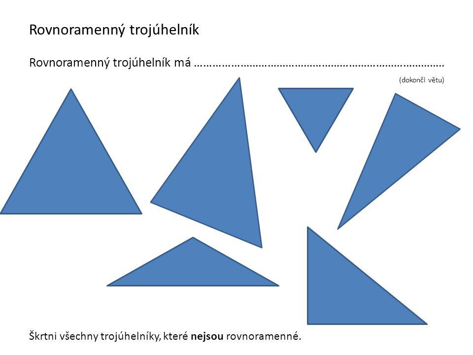 Rovnoramenný trojúhelník