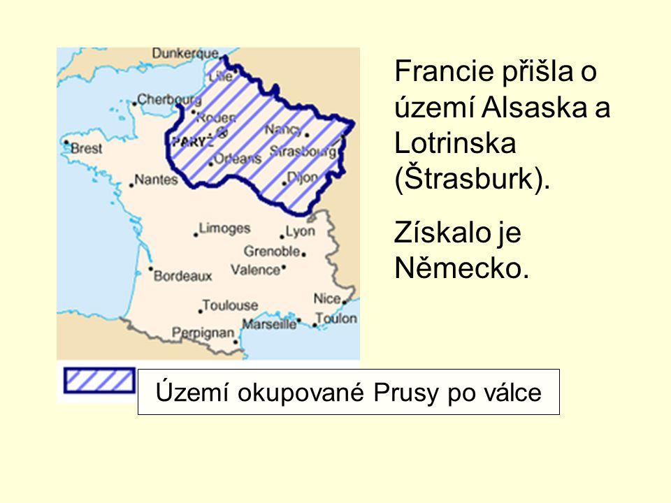 Území okupované Prusy po válce