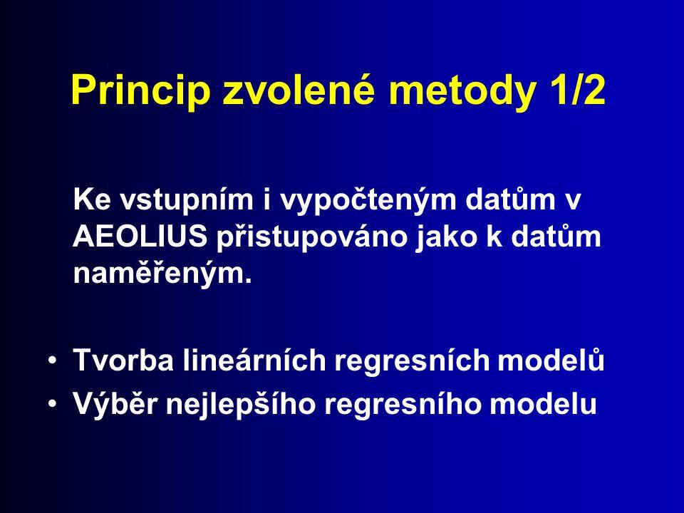 Princip zvolené metody 1/2