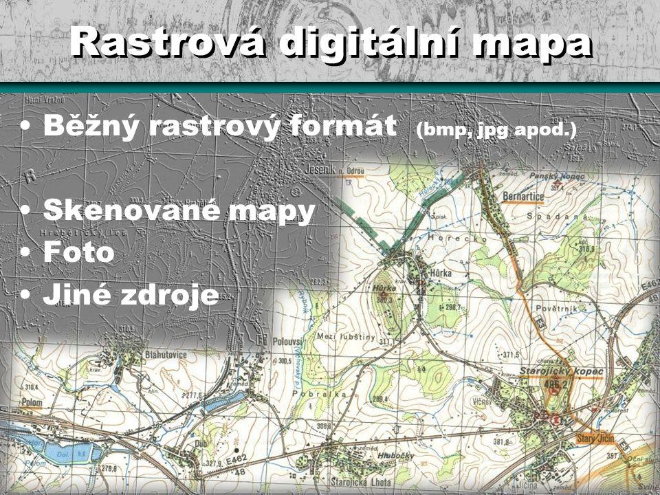 Rastrová digitální mapa