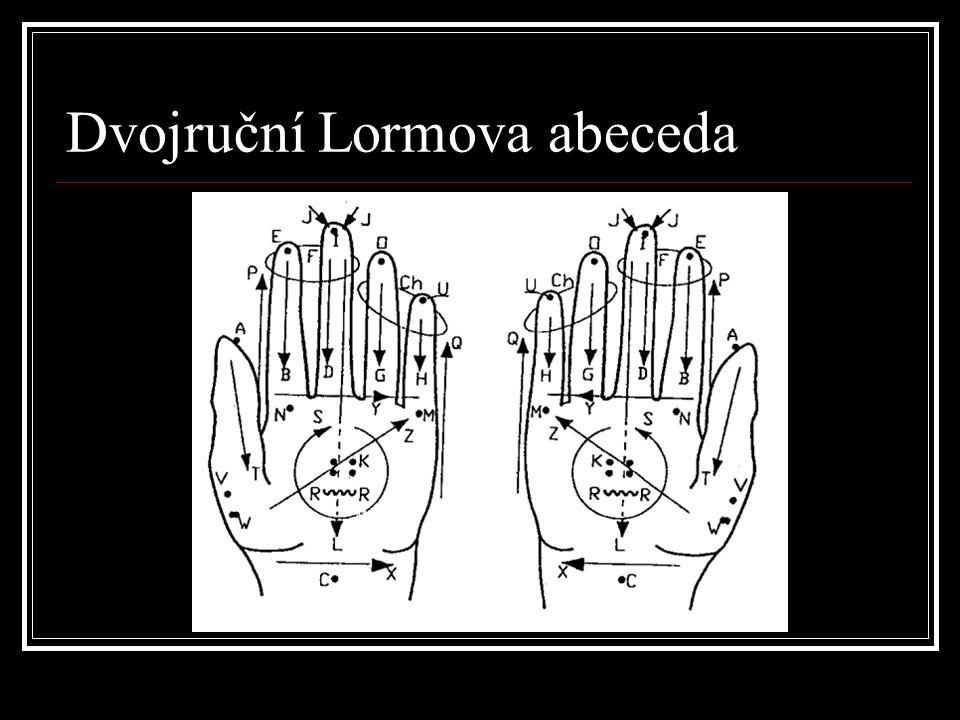 Dvojruční Lormova abeceda