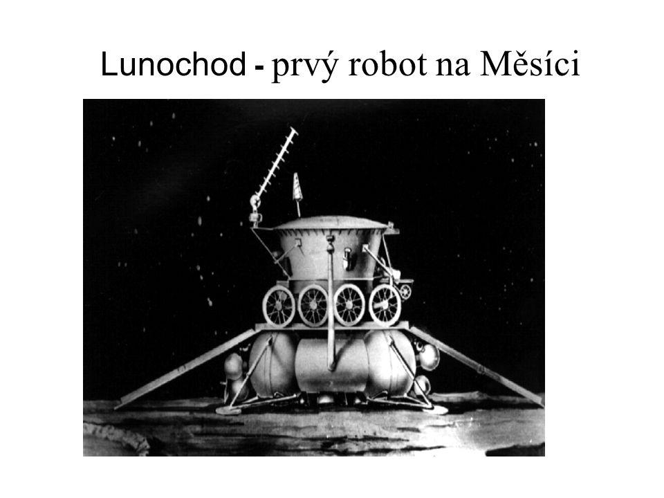 Lunochod - prvý robot na Měsíci