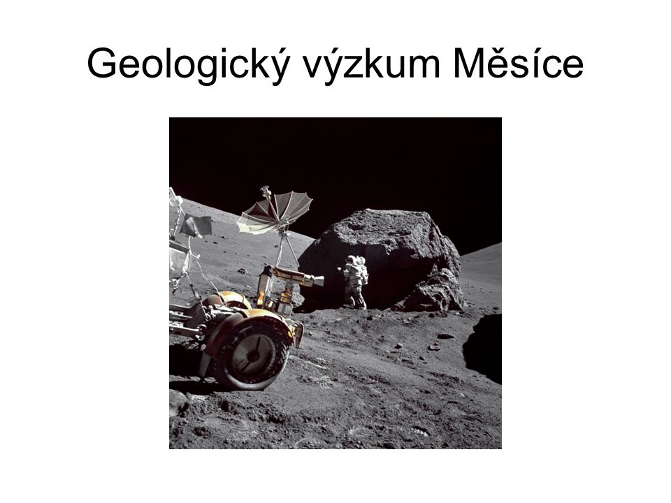 Geologický výzkum Měsíce