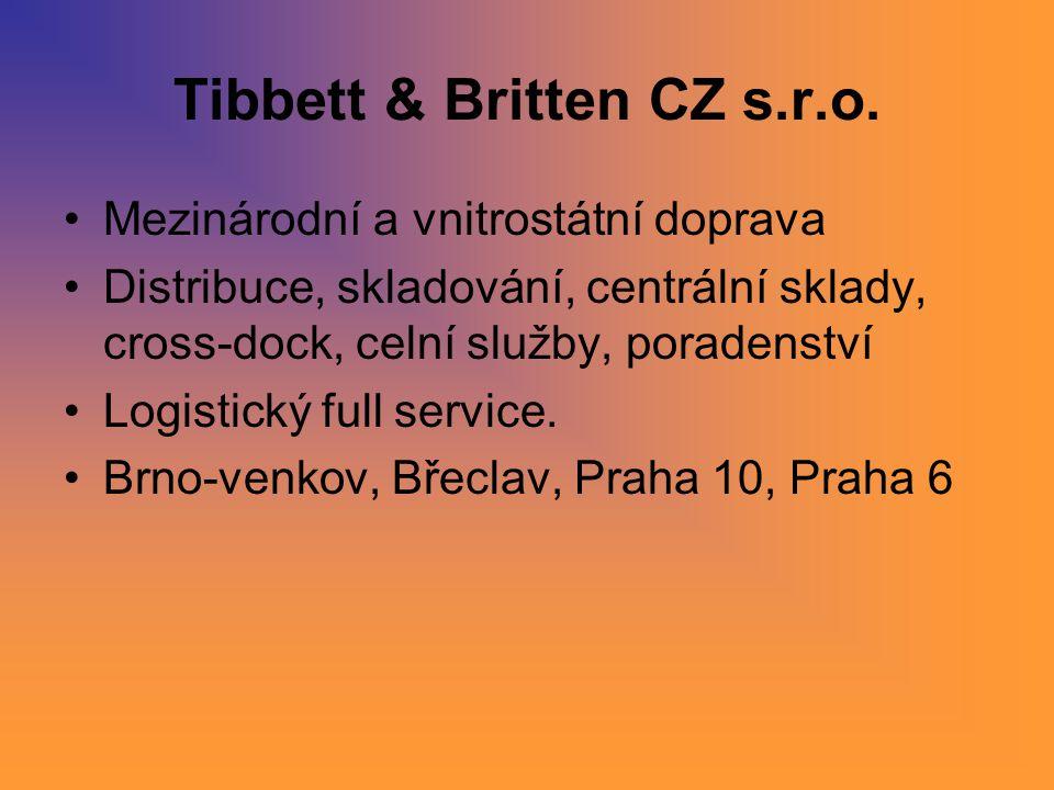Tibbett & Britten CZ s.r.o.