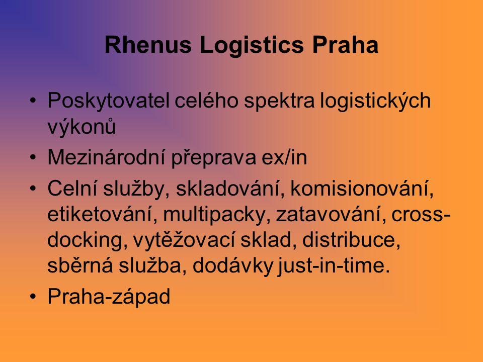 Rhenus Logistics Praha