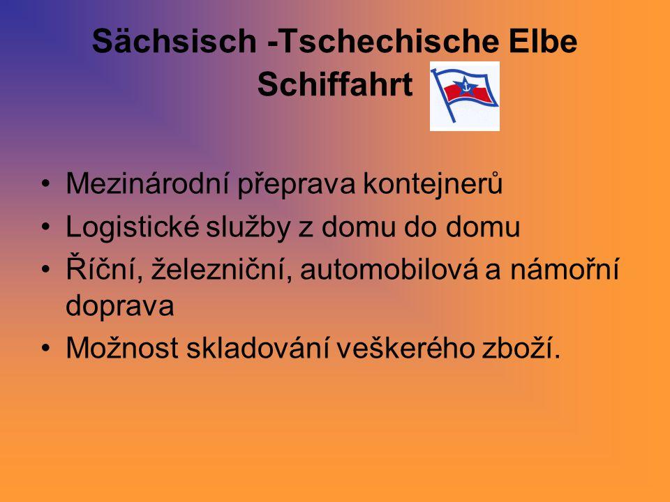 Sächsisch -Tschechische Elbe Schiffahrt
