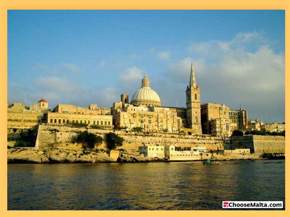 MĚSTA aglomerace Valletty- poloostrov ve tvaru prstu