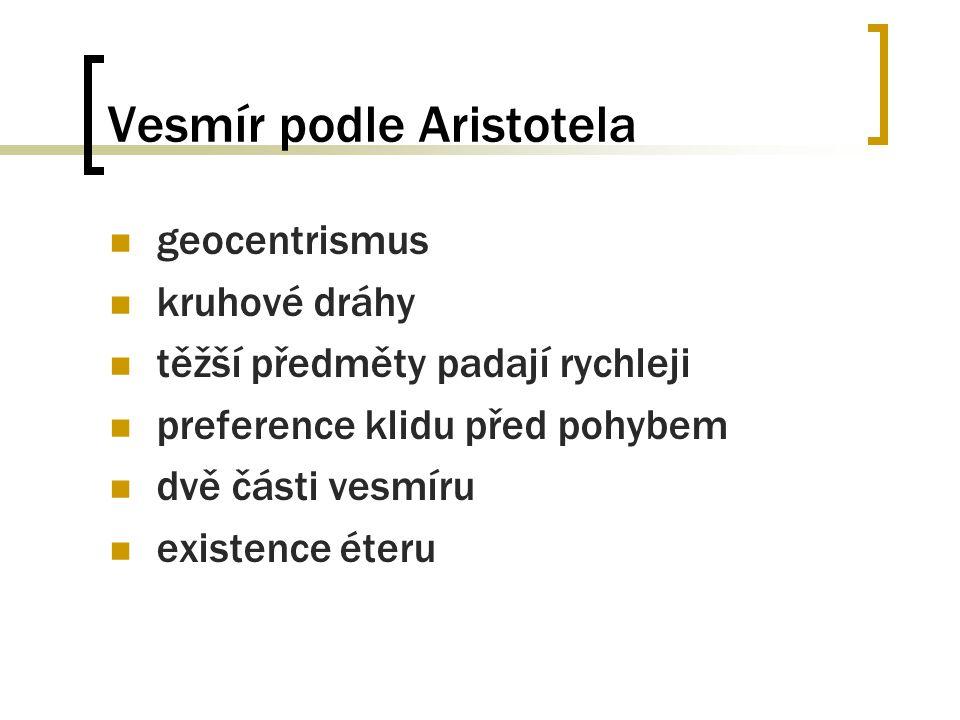 Vesmír podle Aristotela