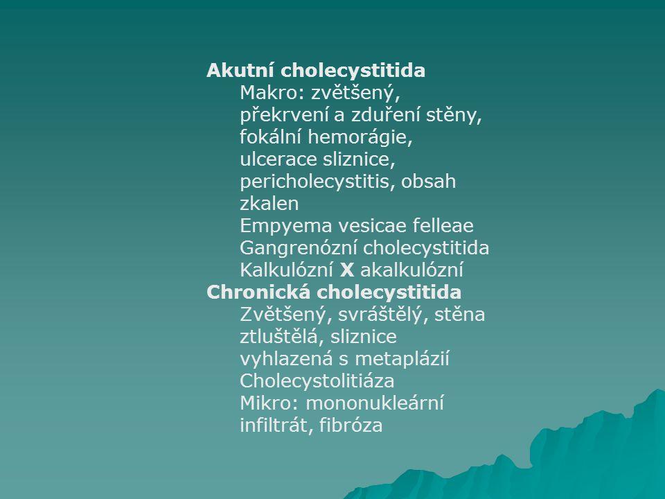 Akutní cholecystitida