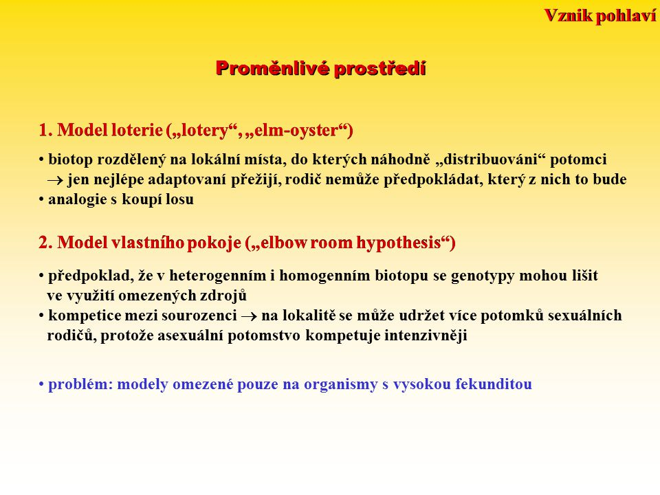 "1. Model loterie (""lotery , ""elm-oyster )"