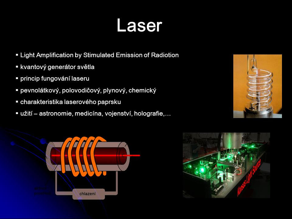 Laser Light Amplification by Stimulated Emission of Radiotion