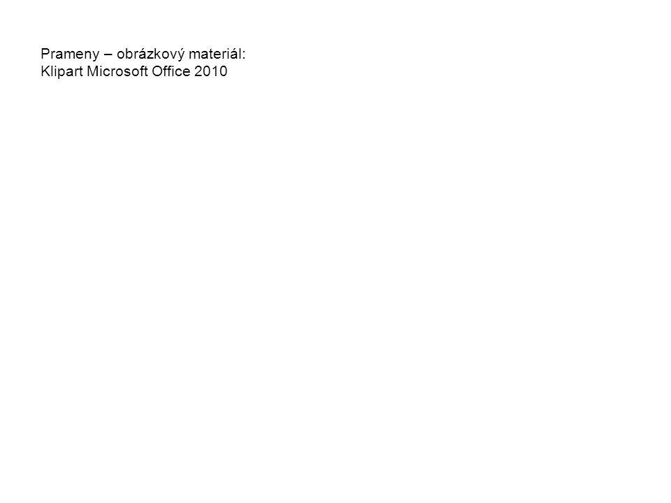 Prameny – obrázkový materiál: Klipart Microsoft Office 2010