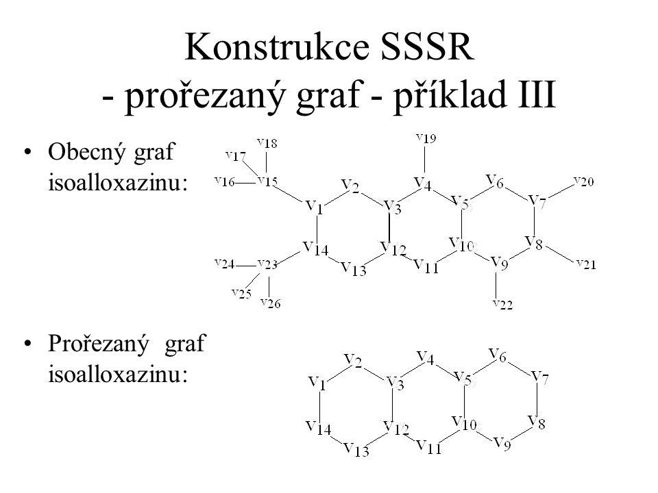 Konstrukce SSSR - prořezaný graf - příklad III