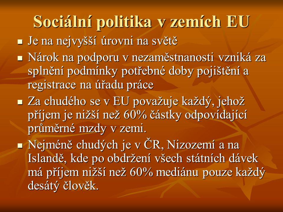Sociální politika v zemích EU