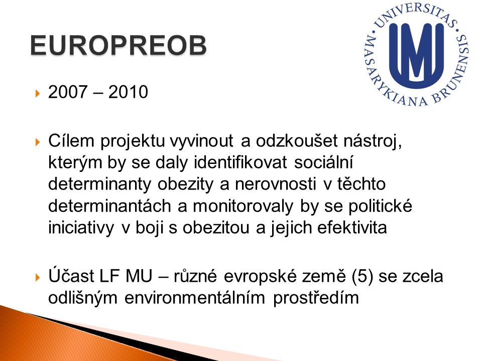 EUROPREOB 2007 – 2010.