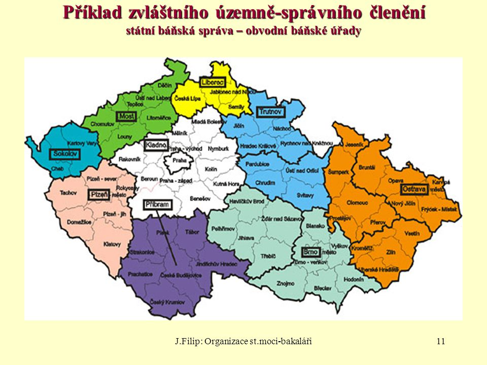 J.Filip: Organizace st.moci-bakaláři