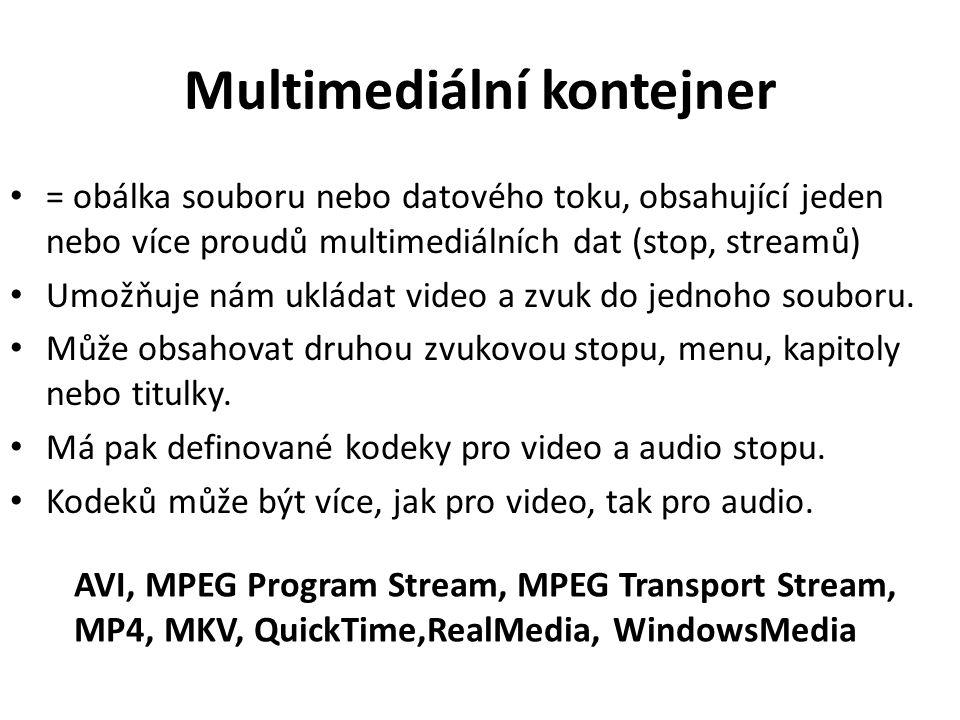 Multimediální kontejner