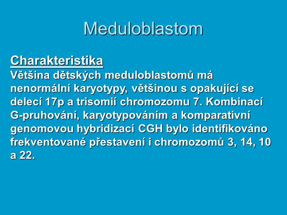 Meduloblastom Charakteristika