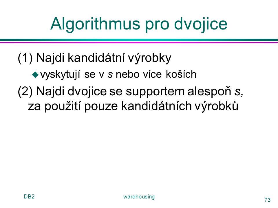 Algorithmus pro dvojice
