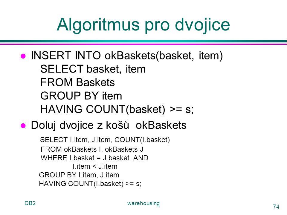 Algoritmus pro dvojice
