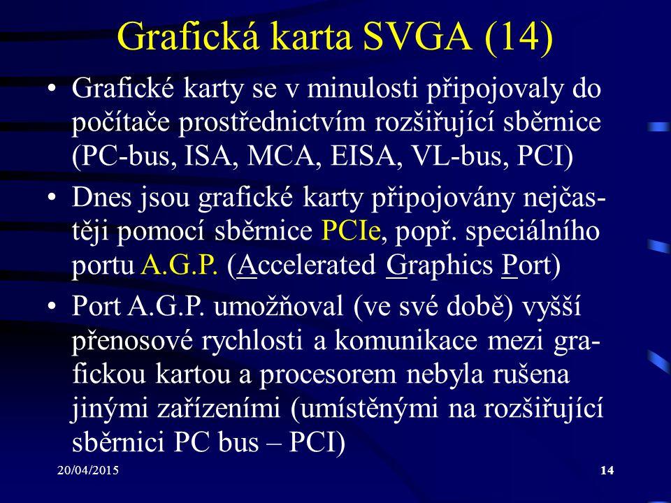 Grafická karta SVGA (14)