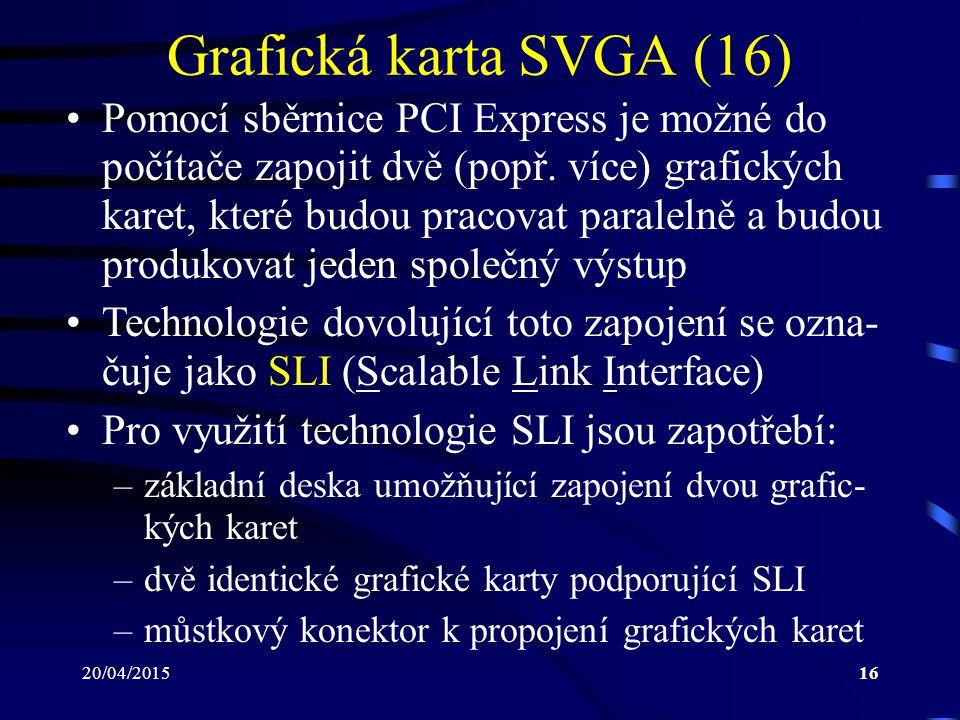 Grafická karta SVGA (16)