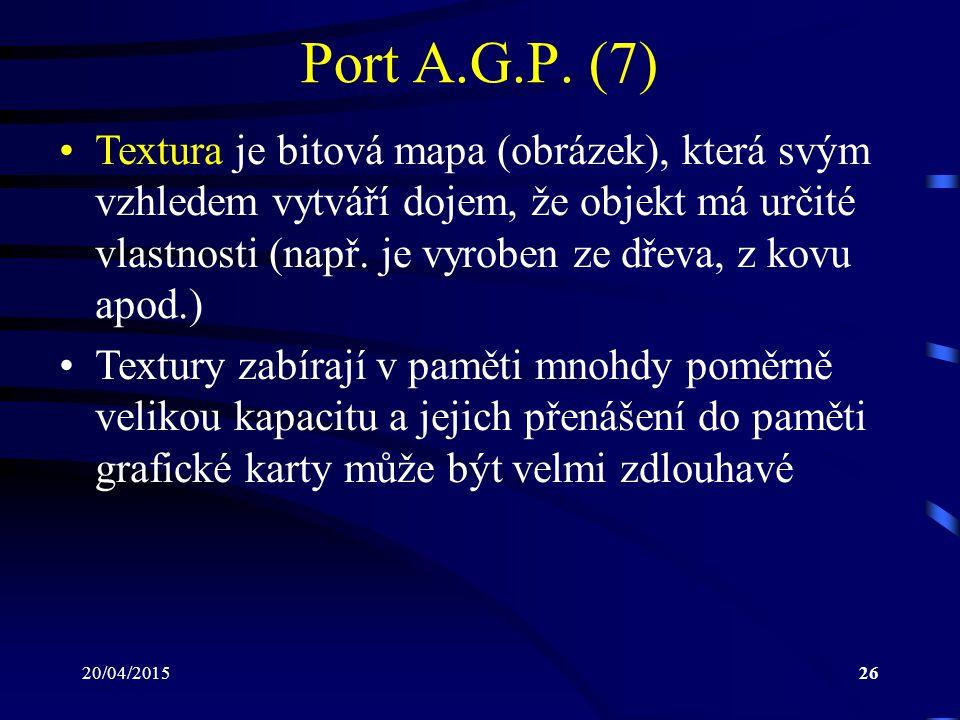 Port A.G.P. (7)