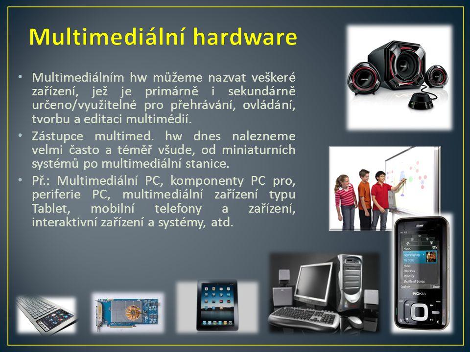 Multimediální hardware