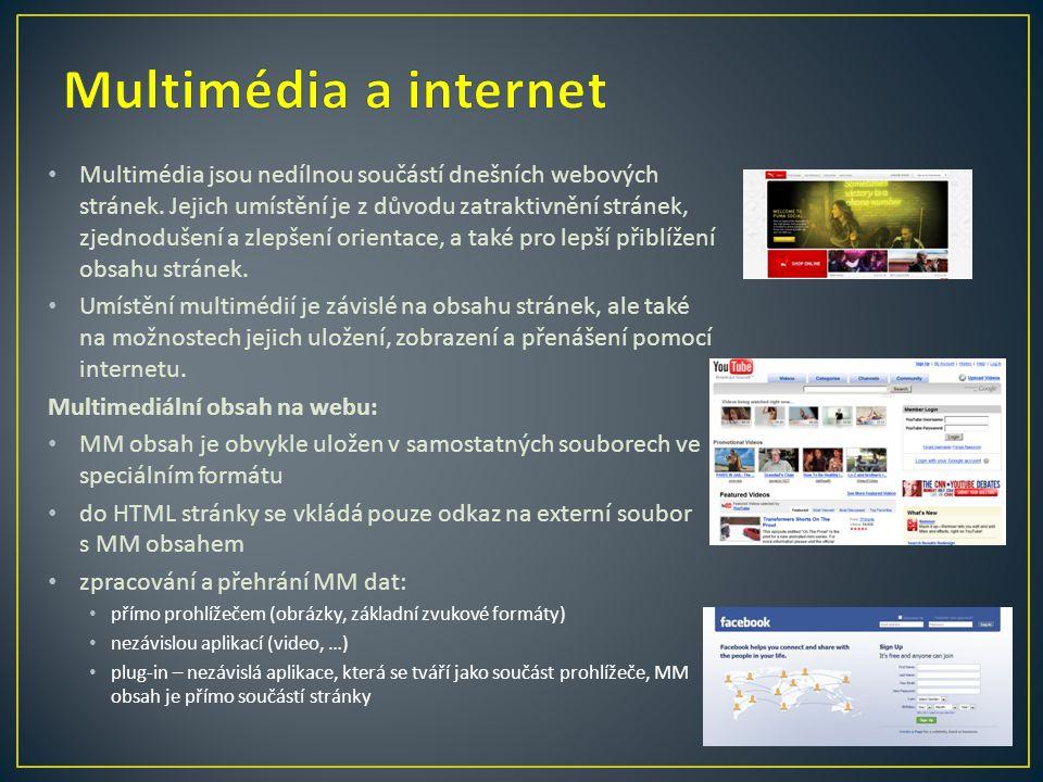 Multimédia a internet